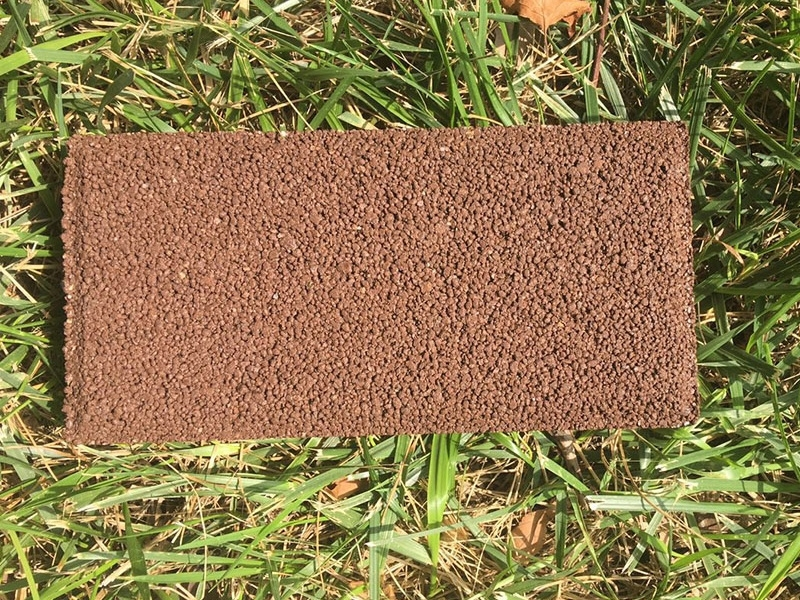 乌兰察布棕色透水砖