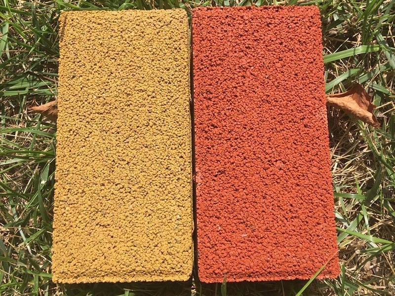 赤峰透水砖(黄红色)
