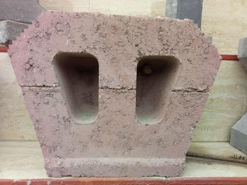 水泥制品挡土墙砖