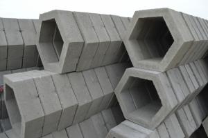 水泥制品六角护坡砖